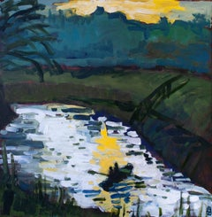 Boating on the Marsh, Original Painting
