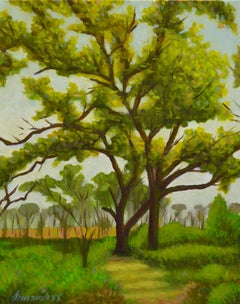 Shady Spot, Oil Painting