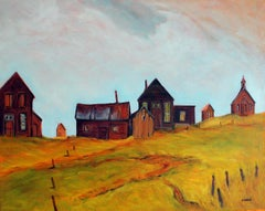 Bodie, Silent Sentinels, Oil Painting