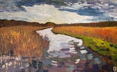 Winter Creek, Original Painting
