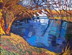Crystal Blue, Original Painting