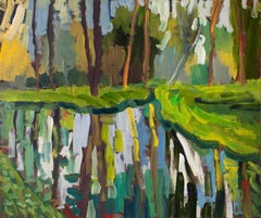 Spring Reflections, Original Painting