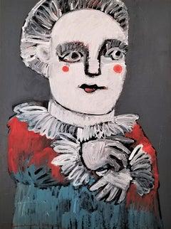 Lady America, Original Painting