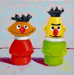 Friends Indeed, Oil Painting