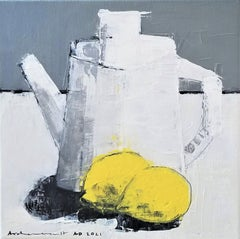 Jug and Lemons, Original Painting