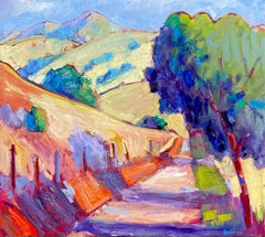 North Gate Road, Mt. Diablo, Oil Painting