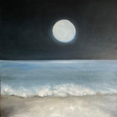 Moon Glow, Oil Painting