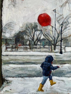 Snow Day, Original Painting