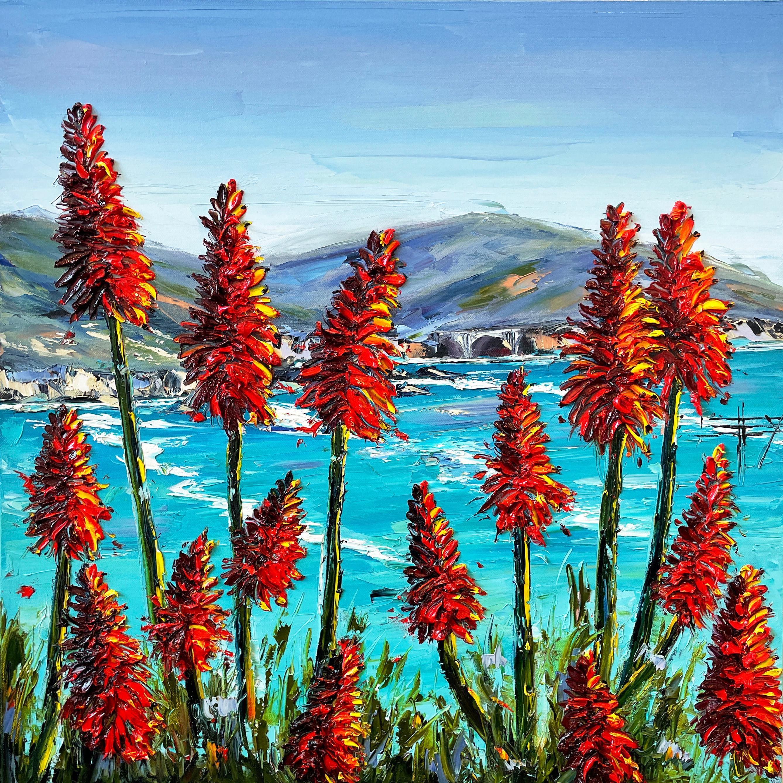 Promise of Big Sur, Oil Painting