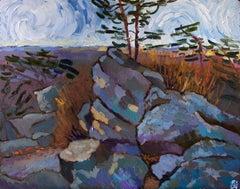 On Sugarloaf Mountain, Original Painting