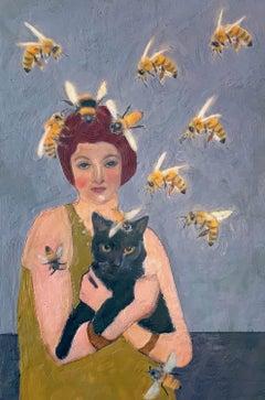 Bee Alchemy, Original Painting