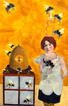 Bee It Ever So Humble, Original Painting