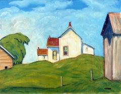 Ontario Farm - Ottawa Valley, Oil Painting