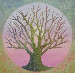 Tree of Life - Spring, Original Painting