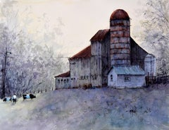 A View from the Back, Original Painting