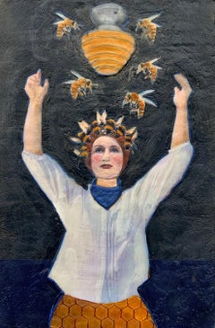 Glory Bee, Original Painting