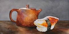 Tea with Sushi, Original Painting