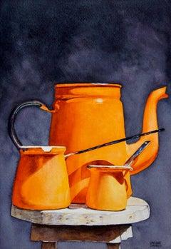 Tangerines, Original Painting
