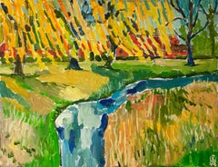 Willows, Original Painting