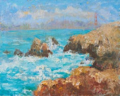 View from the Point, Oil Painting