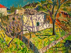 House with Hip Roof, Original Painting