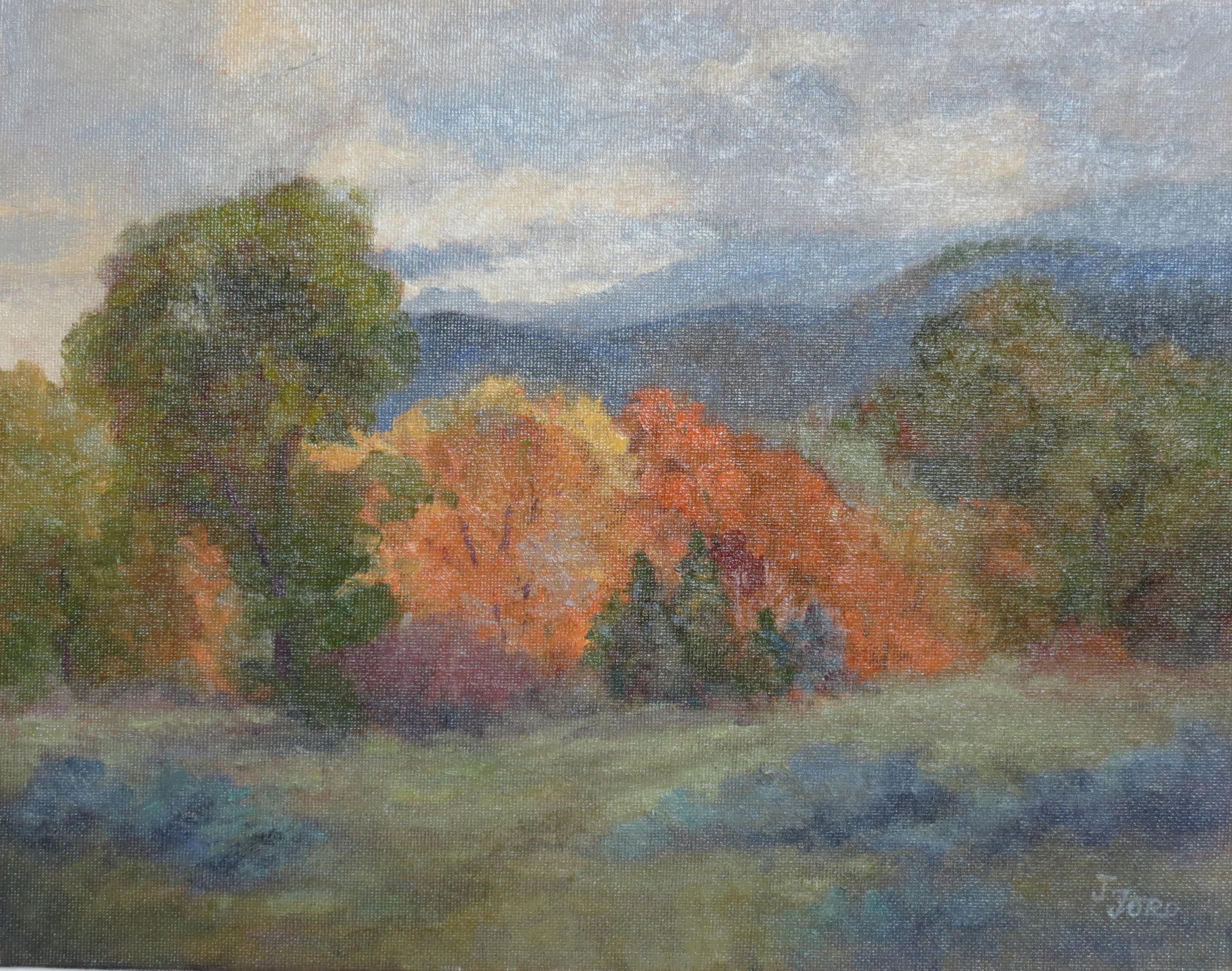 Autumn in the Smokies, Oil Painting