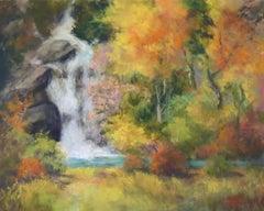 Hidden Forest Falls, Original Painting