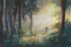 Morning Walk, Original Painting
