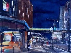 City Lights, Tokyo, Original Painting