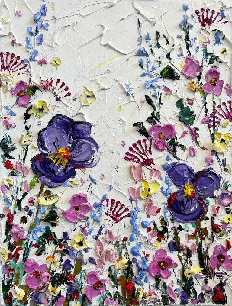 So Very Spring, Oil Painting - Art by Lisa Elley