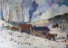 Cold Morning, Original Painting