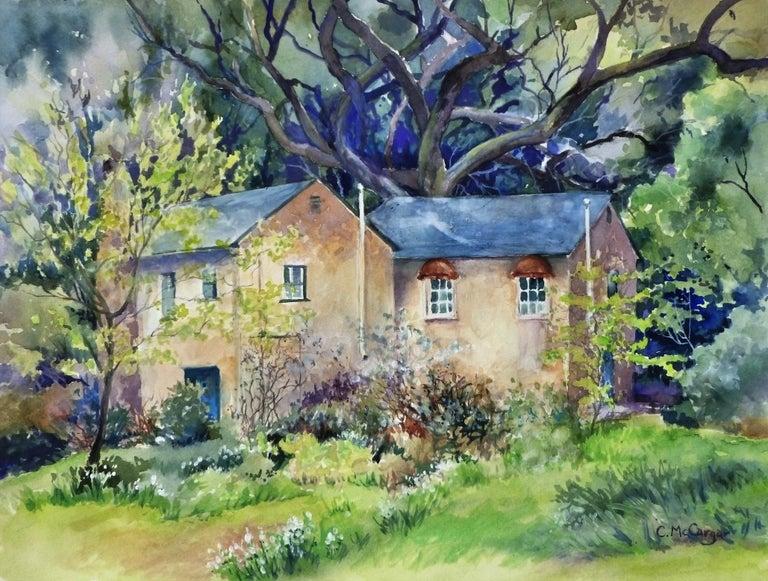 Catherine McCargar Interior Art - Secret Place, Original Painting
