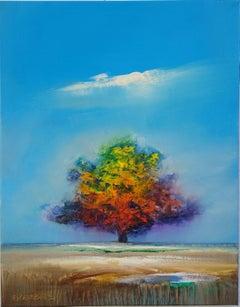 Seasons Change, Oil Painting
