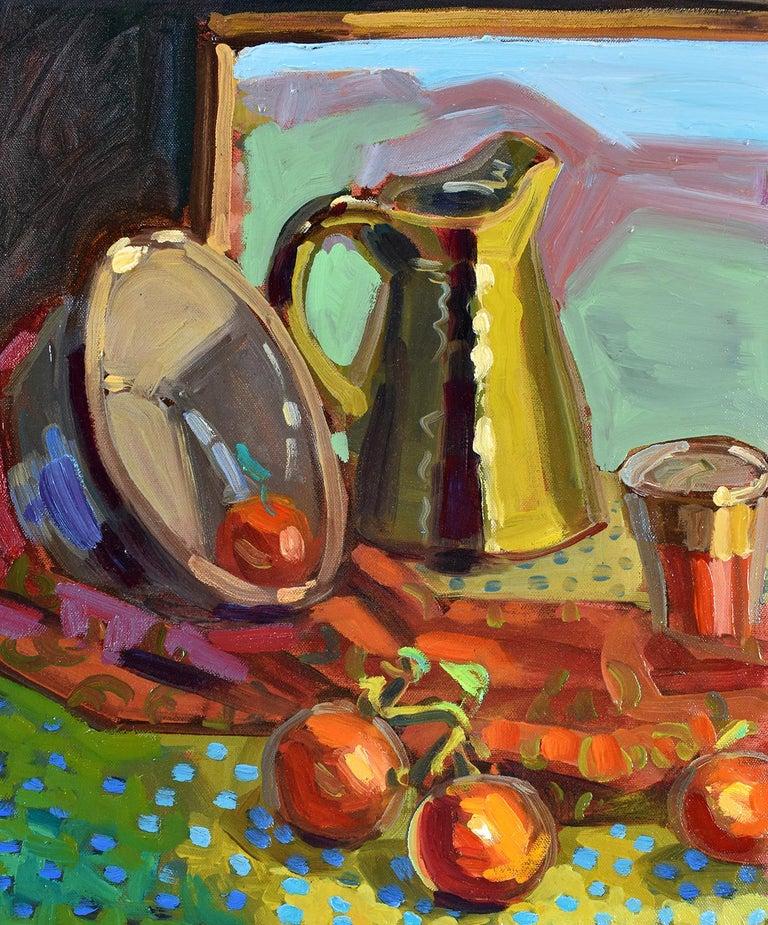 Summer Kitchen, Oil Painting - Art by Tara Zalewsky-Nease