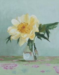 Peony III, Oil Painting