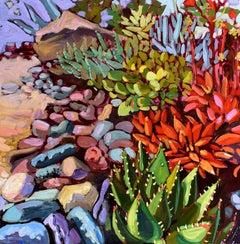 Succulent Summer, Oil Painting