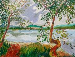 Windswept Shore, Original Painting
