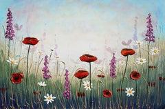 Garden of Flowers, Original Painting