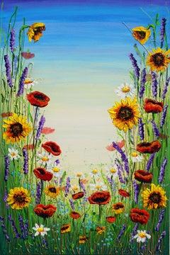 Symphony of Wildflowers, Original Painting