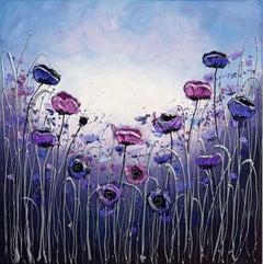 Gentle Poppies, Original Painting