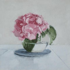 Hydrangea in Bloom, Oil Painting