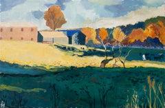 Herd at Dusk, Original Painting