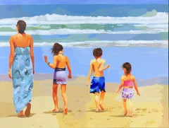 Surf Dance, Original Painting