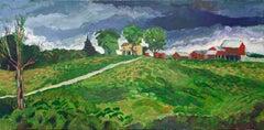Late Summer Storm, Original Painting