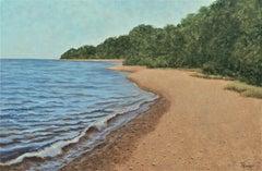 Lake Shore Calm, Original Painting