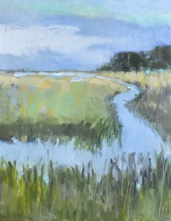 A Day In The Marsh, Oil Painting