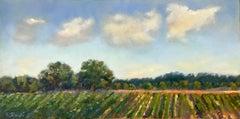 Sunday Afternoon, Delta Farmland, Oil Painting