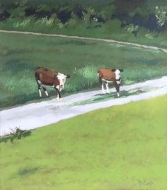 Crossing, Oil Painting