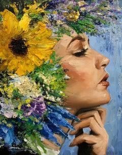 Claudia, Oil Painting