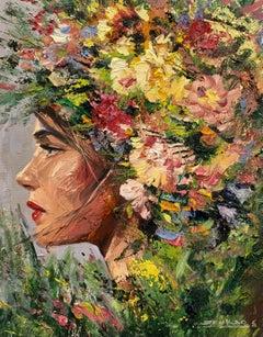 Irene, Oil Painting
